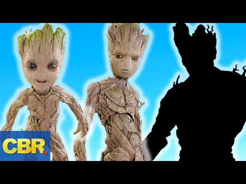 This Is What Groot Will Look Like In Marvel's Avengers 4