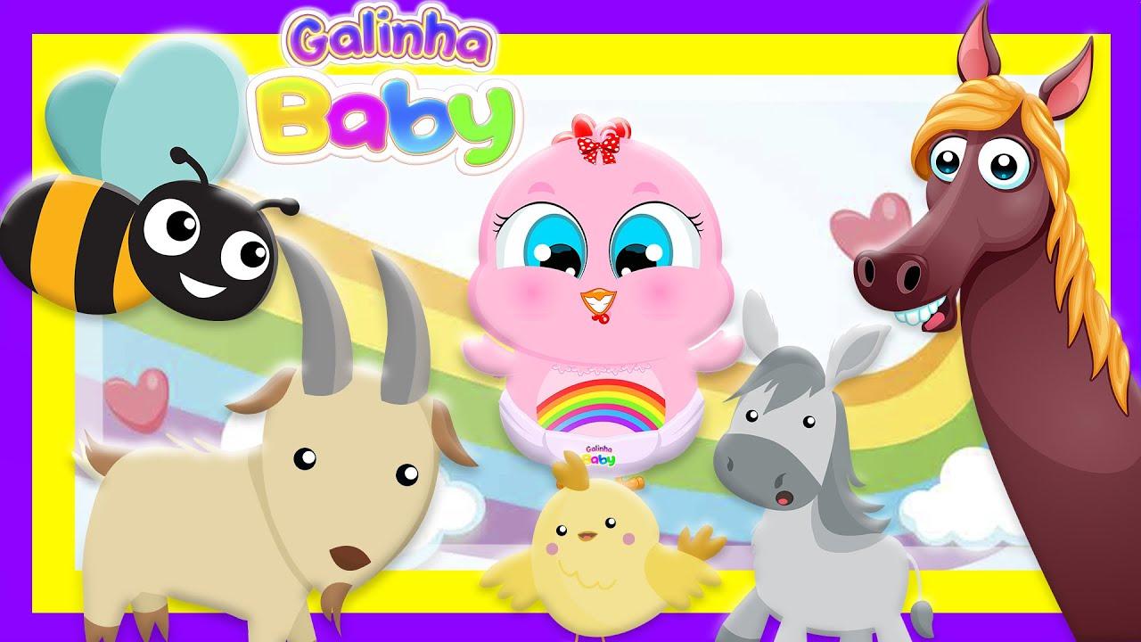 A Festa da Bicharada - Vídeo Oficial Educativo - Galinha Baby (Música Infantil)