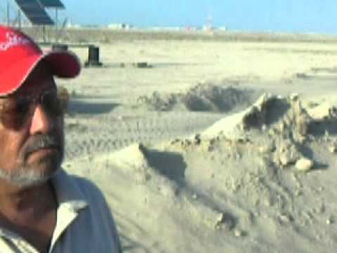 UAE  Solar installation  At Najum Island by Salim Mastan DSCN3336.MOV