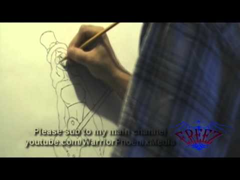 Ereez – Best Sweet Child o Mine Rap Remix Ever 2011- Sexy GnR Girl Drawing