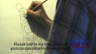 Ereez - Best Sweet Child o Mine Rap Remix Ever 2011- Sexy GnR Girl Drawing