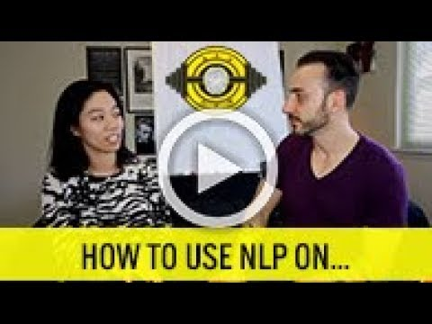 Neuro linguistic programming techniques for seduction
