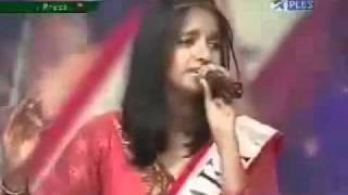 Rithisha Padmanabh   Amul Star Voice of India 2008