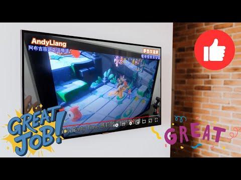 夢想改造家--Costco電視壁掛架安裝-VC6B80 TV wall mount installation ...