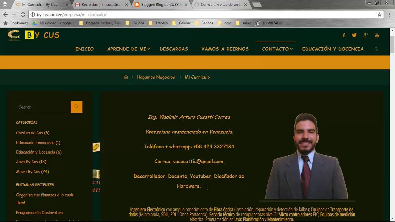 Lujo Ejemplo De Desarrollador De Curriculum Vitae Java Friso ...