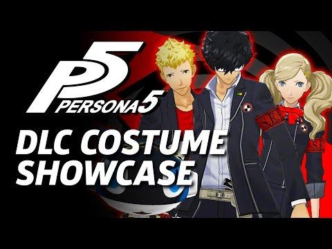 Persona 5 Dlc Costumes And Persona Showcase