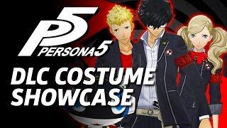 Persona 5: DLC Costumes and Persona Showcase