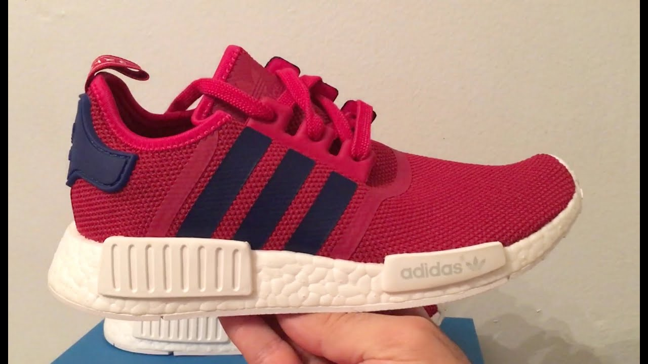 78246ed17fc4d NMD R1 Pink sneakers s80205 - YouTube