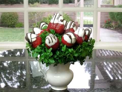Decorate Chocolate Covered Strawberries Quot Youtube