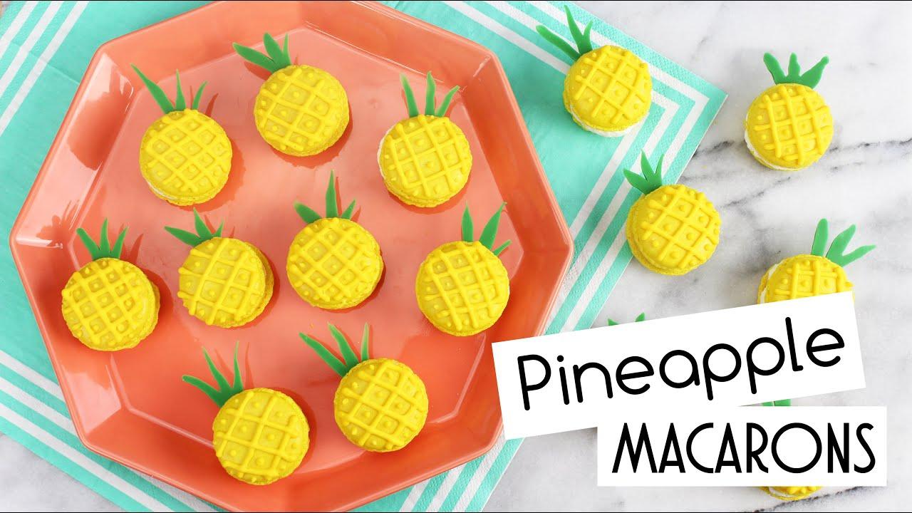 recipe: pineapple macaron filling [1]