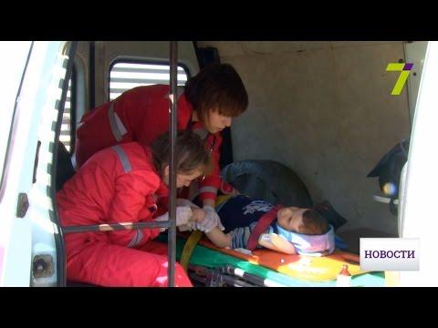 Врачи борются за жизнь ребенка, пострадавшего в аварии под Одессой