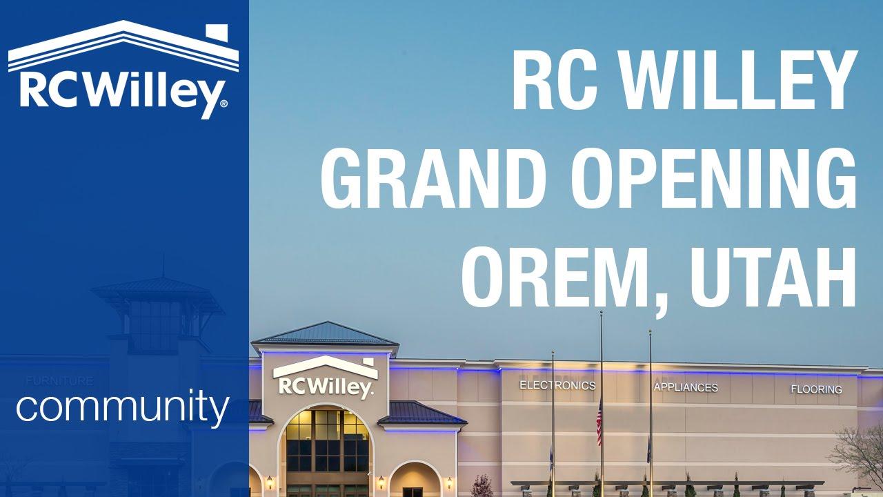 Rc Willey Grand Opening Orem Utah 4 16 15 Youtube