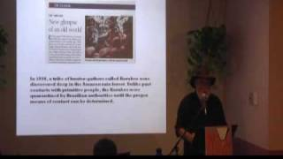 12/17 Jim Marrs Speaks on UFOs at Brave New Books 3/21/2009