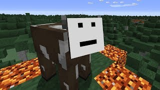 Minecraft, but we destroyed the textures