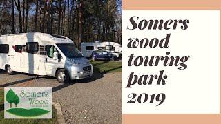 somers wood caravan park  , Meriden  ,  feb 19