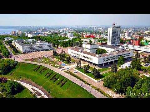 Аэрообзор Ульяновска | Аэросъёмка обзора города Ульяновска квадрокоптером DJI Mavic