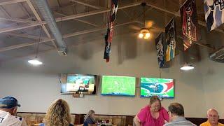 🔴 в ресторане 🔴 футбол Miami vs New England