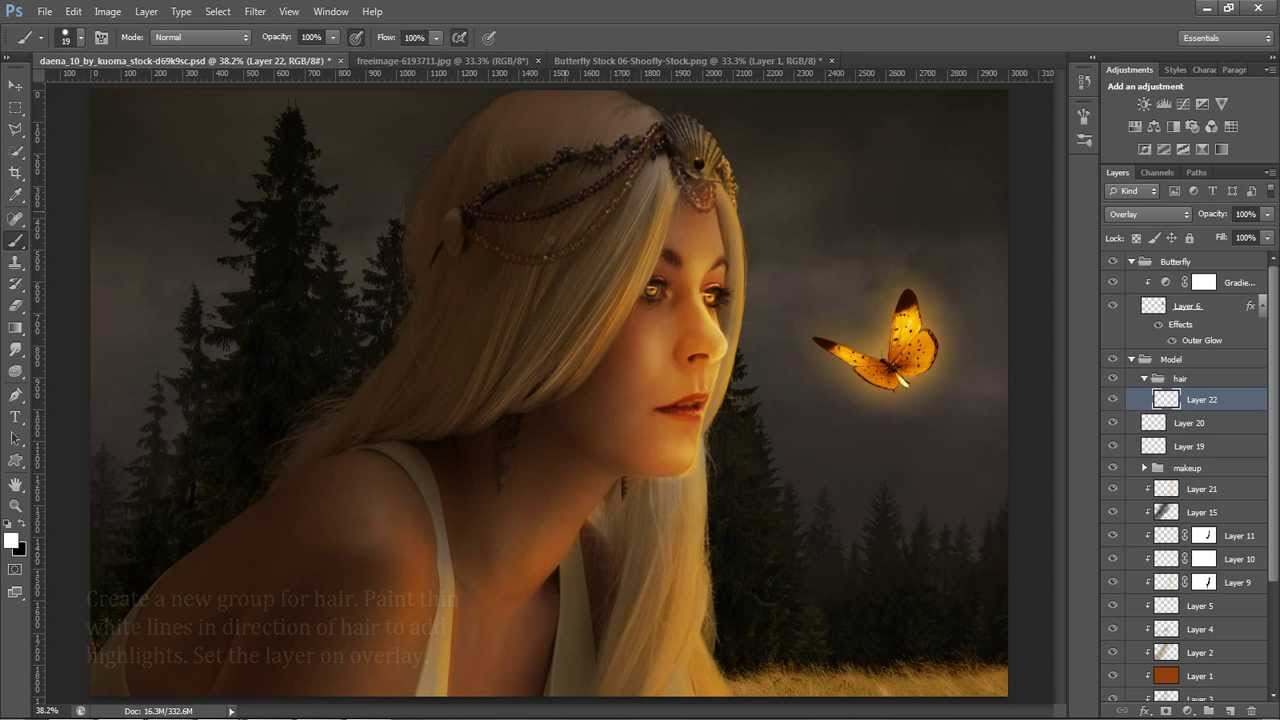 Magical Glow - Photoshop Tutorial