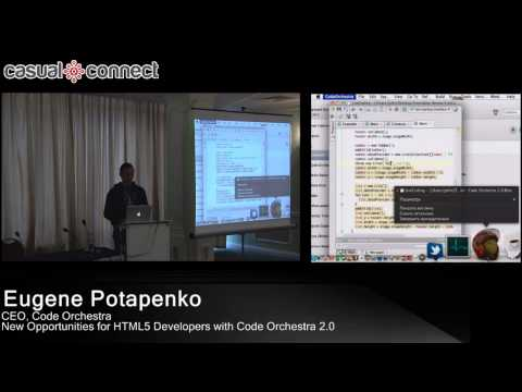 New Opportunities for HTML5 Developers with Code Orchestra 2.0 | Eugene POTAPENKO