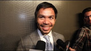 "MANNY PACQUIAO IN SAVAGE MODE ""THURMAN WILL REGRET EVERYTHING HE SAID"""