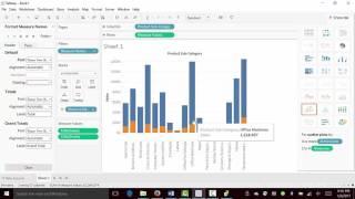 Datenvisualisierung mit Tableau-gewusst Wie: erstellen Gestapeltes Balkendiagramm
