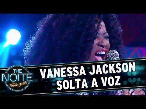 The Noite (07/10/16) - Vanessa Jackson solta a voz