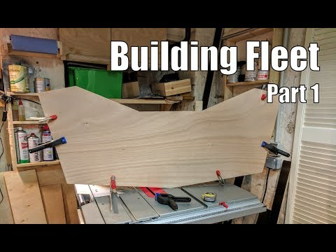 Building Fleet, a small wooden boat #1