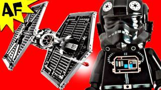 TIE FIGHTER Lego Star Wars Set 9492 Animated Building Review