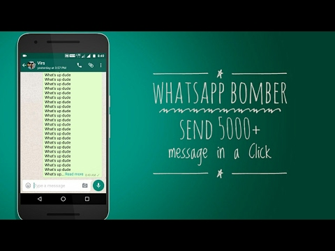 Whatsapp sms bomber
