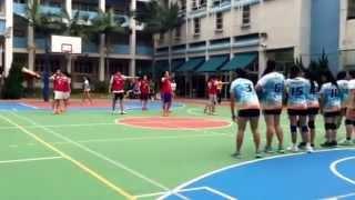20151115 全港學界閃避球分區挑戰賽 聖嘉勒對新亞 上