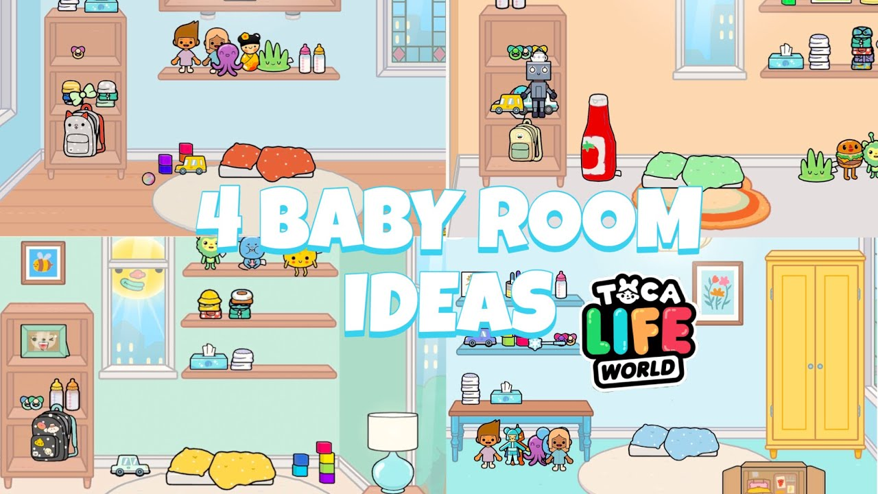4 BABY ROOM IDEAS | Toca Life World - YouTube