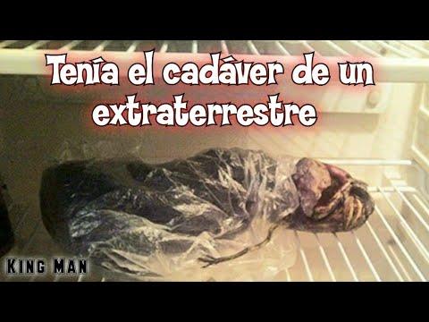 Mujer encuentra el cadáver de un extraterrestre y lo mantiene en el refrigerador por 2 años