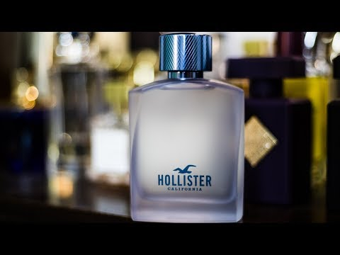 NEW HOLLISTER FRAGRANCE   HOLLISTER FREE WAVE REVIEW