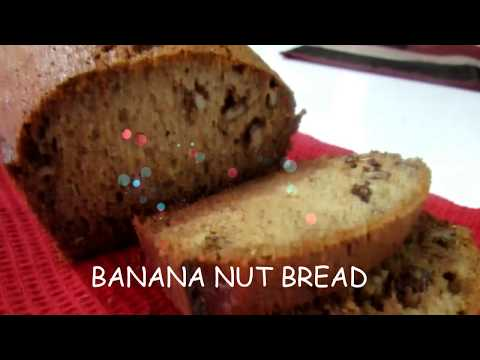 What To Do With OVER RIPE BANANAS - EASIEST BANANA NUT BREAD Recipe - TRINIDAD
