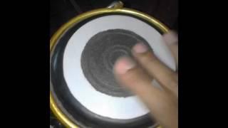 Tes Ketipung tabla serbuk besi buatan sendiri