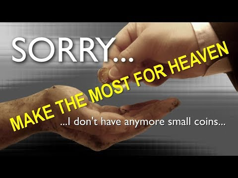 IMPORTANT TEACHING FOR EVERYONE ... SORRY, I DON'T HAVE ANYMORE SMALL COINS ❤️ Spiritual Sun 2