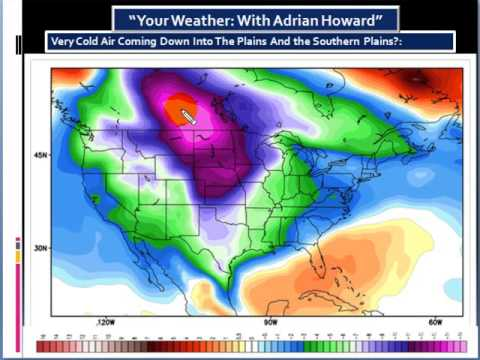 Polar Air Mass Coming Down Into The US By The Middle Of January 2013.
