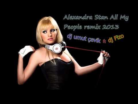 dj umut çevik  dj fizo Alexandra Stan All My People remix 2013