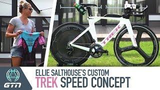 Ellie Salthouse's Custom Trek Speed Concept Pro Bike & Triathlon Kit