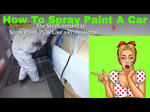 How To Spray Paint A Car. Painting a car with spray paint video Learn the steps to spray paint a car