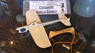 Catapult Balsa Glider