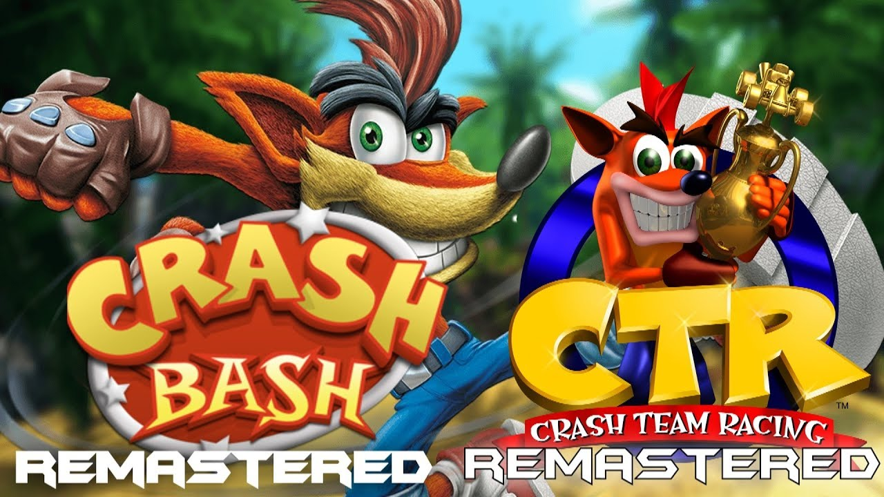 NEW Crash Bandicoot Remastered 2019 ? (Crash Team Racing Remastered & Crash  Bash Remastered ?)