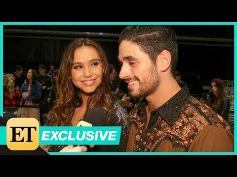 Alan Bersten Reveals What He Loves Most About Alexis Ren After Their First Televised Kiss! (Exclu…