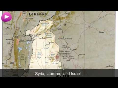 Golan Heights Wikipedia travel guide video. Created by Stupeflix.com