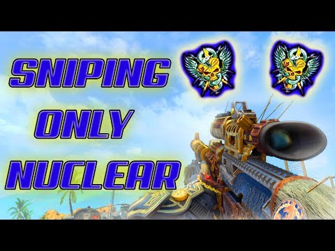 MY FIRST SNIPING NUCLEAR IN BLACK OPS 4 (WORLDS FIRST PALADIN MASTERCRAFT NUCLEAR)