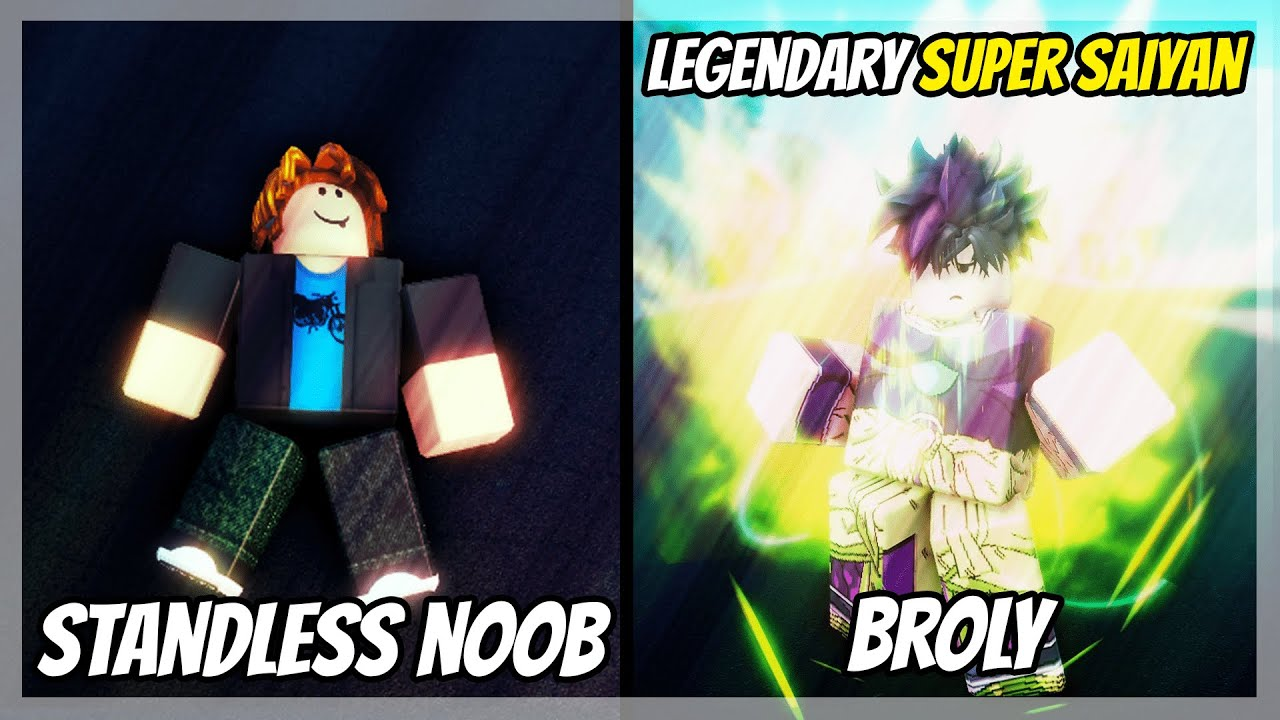 Download Going From Standless NOOB to Obtaining LEGENDARY Super Saiyan Broly in A Universal Time...