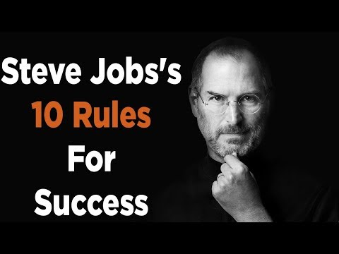Steve Jobs's Top 10 Rules For Success