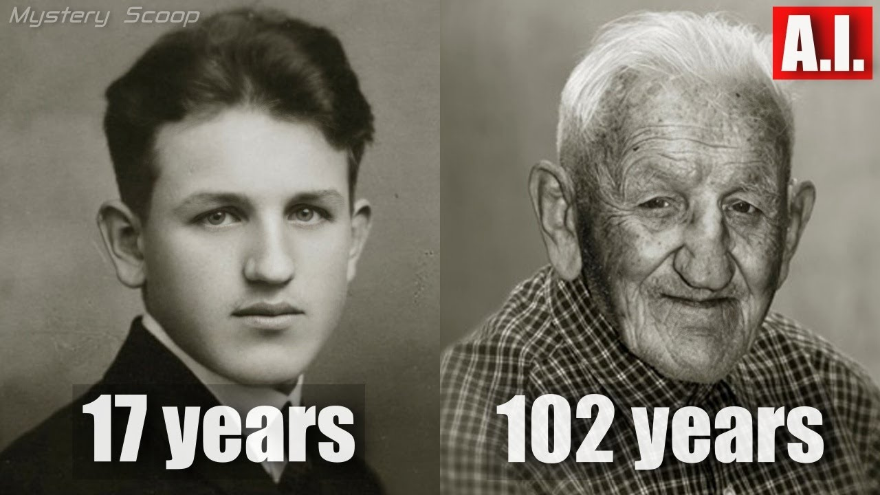 Then And Now Photos of 100 Year Old People Vol. 2