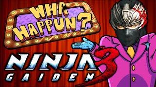Ninja Gaiden 3 - What Happened?