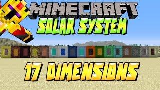 [FR]-17 DIMENSIONS !!! - SOLAR SYSTEM -Présentation de mods-[Minecraft 1.7.10]